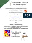 HBBK 14 Inbjudan Höstfest