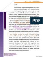 Prospektus (Proposal) Dekan Cup 12 FEB UB