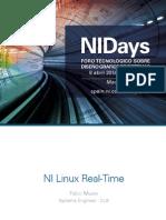 Rt Linux NIDays