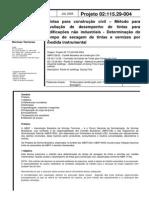 ABNT 02-115.29-004.2005 - Tintas Para Construção Civil - Determinação Do Tempo de Secagem de Tint