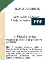 Filosofia - São Tomas de Aquino