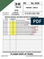 P60X901 Service Manual