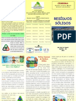Folder Resíduos Sólidos