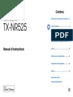 Manual TX-NR525 Fr