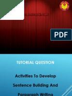 TT4 Activity for Writing