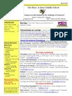 Newsletter Sept. 15