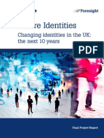 Future Identities Changing Identities
