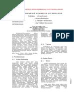 laporan 6 triac+dioda bridge+kapasitor+ ic regulator