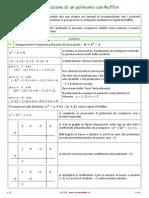 03 10 Scomposizione Con Ruffini 1 2