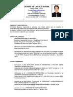 c v George de La Cruz Rivera Agosto Del 2014 Practicante