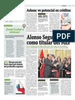 Alonso Segura Jura Como Titular Del MEF