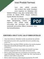 Registrasi Produk Farmasi