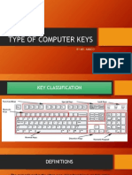Type of Computer Keys