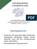Diet CAPD 2011.Ppt Martalena