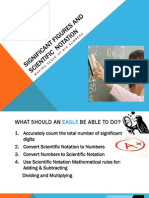 significant figures and scientific  notation ppt revised