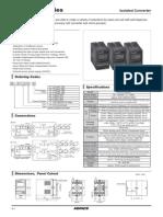 Isolator converter CN6000