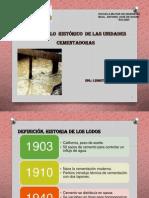 Evolucion Historica de Unidades Cementadoras