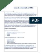 Complejo de Demencia Relacionado Al SIDA