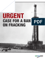 The Urgent Case for a Ban on Fracking