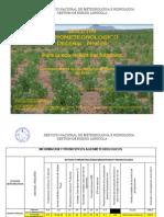 BOLETÍN AGROMETEOROLOGICO Decenal Nº 676-Para La Eco Región Del Altiplano-2do. Decenal de Septiembre Del 2014