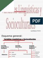 Variables Linguisticas ~~ Luis Bravo