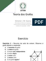 Teoria Dos Grafos - Aula 2