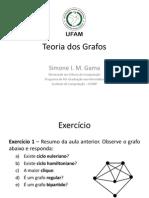 Teoria Dos Grafos - Aula 3