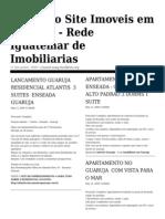 Jornal de Imóveis no Guaruja - Guaruja Imobiliaria