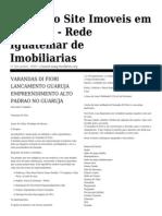 Jornal de Imóveis no Guaruja - Imoveis em Guaruja