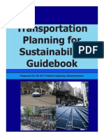 Transprtation Planning for Sustanibility Guidebook - FHWA