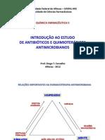 Introdução a Antibioticos e Quimioterapicos Antiinfecciosos. Sulfonamidas