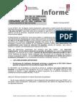 Informe Nueva Regulación Jubilación Anticipada
