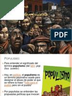 Crisis y Populismo en América Latina