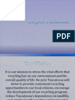 recycle tuscaloosa presentation example