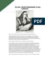 Spinoza Su Xmo e Papato