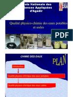 Presentation Chimie Des Eaux GPEE3 ENSA agadir