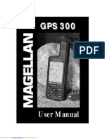 Magellan GPS 300 Manual