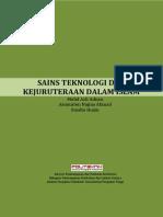 AA209 - Sains Teknologi Dan Kejuruteraan Dalam Islam