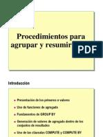 5.2.- Agrupar y Resumir Datos