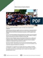 15-09-15 Va Maloro Acosta por impulso al deporte