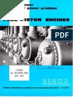Free Pistons Engines