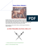 Alter Terahsia Bangsa Melayu- Bahagian 1 -Mistis Files