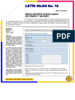 Boletinsilogno18 Estado Diario Fondos y Valores