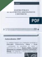 Regitro Publico de Monumentos Arq e Hist.0001