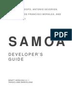 SAMOA Developers Guide 0 0 1