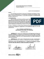 Reglamento de Becas DyM 2014 RHCS_654_2014