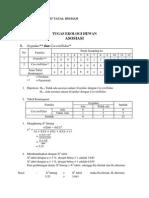 Contoh Perhitungan Asosiasi dalam Ekologi Hewan