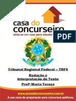 Apostila TRF4.2014 Red.int .DeTexto MariaTereza