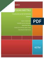 Reporte de Practica Del Termometro