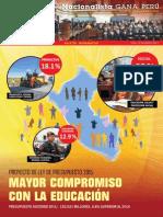 Boletín Nº 20 del Grupo Parlamentario Nacionalista Gana Perú